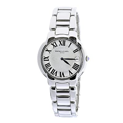 Raymond Weil Women's 5235-St-00659 Jasmine Stainless Steel Bracelet Silver Dial Date Watch