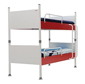 New Joy Nautica Childrens Bunk Bed, 175 x 100 x 210 cm, White