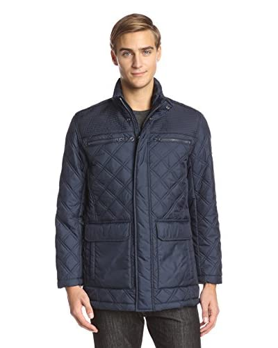 Marc New York Men's Fulton 31.5″ Polyfill Quilted Jacket