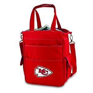 NFL Kansas City Chiefs Activo Tote, Red by Picnic Time