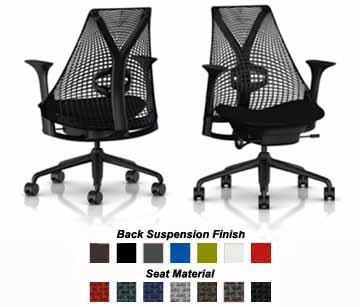 Herman Miller Sayl Chair Home Office Desk Task Chair SAYL Work Chair With F