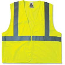 GloWear 8210HL Class 2 Economy Vest Small/Medium, Lime