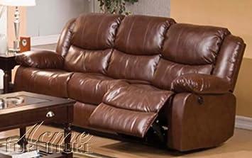 ACME 50200 Fullerton Bonded Leather Sofa - Brown