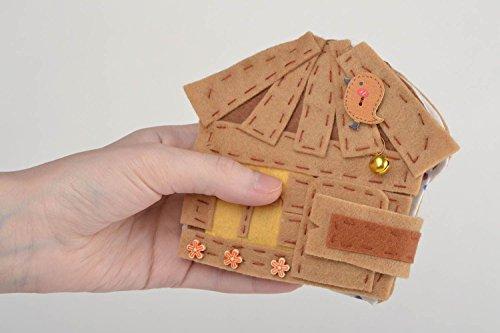 Handmade-Puppet-Theater-Sewn-Of-Felt-Three-Bears-Educational-Toy-For-Little-Kids