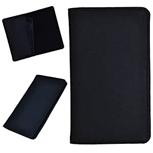 DCR Pu Leather case cover for Videocon A55 HD (black)