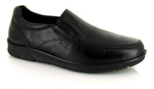 Pitillos, Mocassini uomo nero nero nero Size: 43