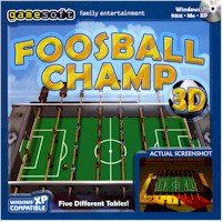 Gamesoft FOOSBALLCHAMP3D Foosball Champ 3D