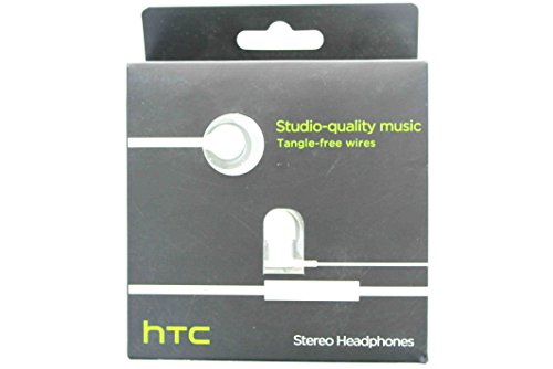 Htc Rc E240 Wired Headset With Flat Tangle Free Cable - White