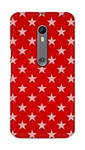 Amez designer printed 3d premium high quality back case cover for Motorola Moto X Style (Stars on paper)