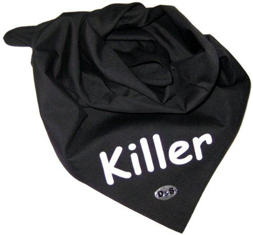 Artikelbild: Cooles Halstuch für Hunde - Killer - Gr.1 37x37cm - Dogs Stars