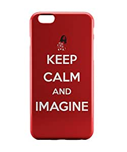PosterGuy iPhone 6 / 6S Case Cover - Keep Calm and Imagine | John Lennon Music Legend