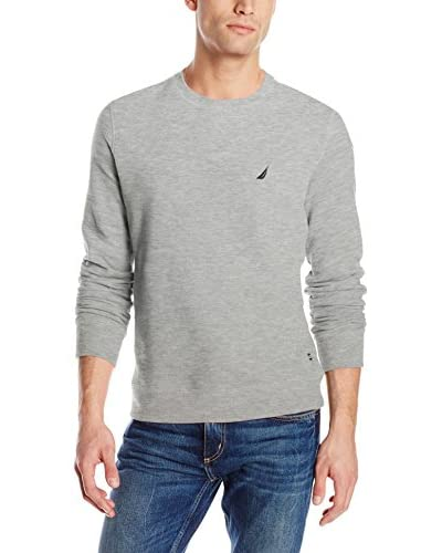 Nautica Men's Fleece Crew Neck Sweatshirt