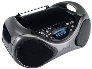 Akai APRC60AT Lecteur CD 1 x USB Gris, Noir (Import Allemagne)