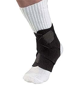 Mueller Adjustable Ankle Support, Black, One Size