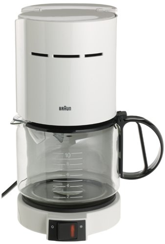 Braun Coffee Maker KF400-WH: The 10 Cup Appliance for a Blast of Flavor