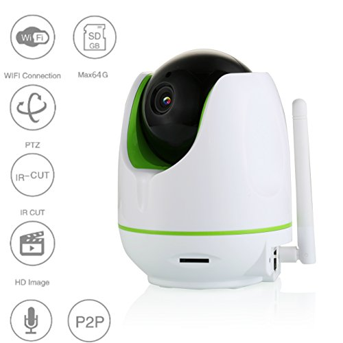 Wireless CCTV Camera Security System With Recorder,Pan Tilt Zoom,HD Recording With SD Card Slot