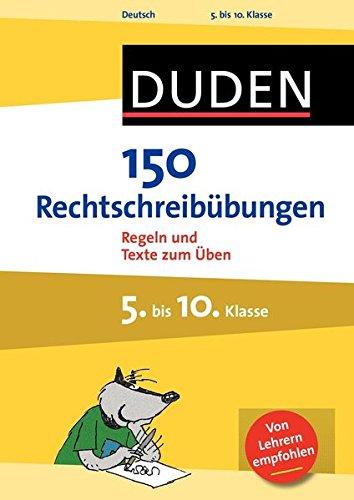 150 rechtschreib252bungen 5 bis 10 klasse oferta