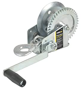 Maxxtow Towing Products 70177 Hand Winch with 33' Steel Cable - 800 lbs. Capacity by Maxxtow Towing Products