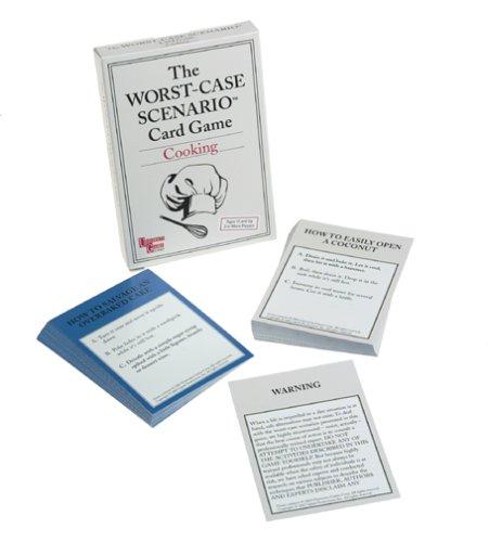 Worst Case Scenario Cooking Card Game - 1