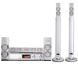 Philips Streamium MX6000i 5-DVD Home Theater System with Wi-Fi Connectivity (Discontinued by Manufacturer)