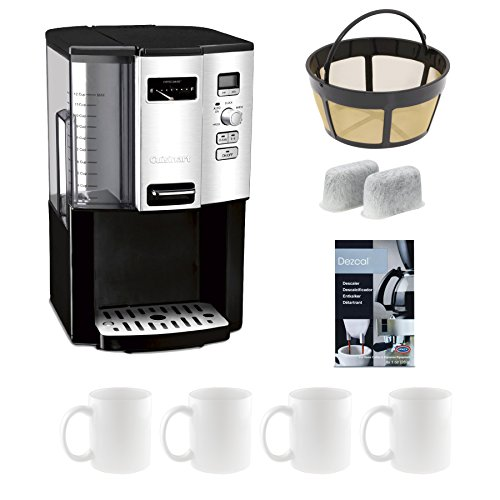Cuisinart DCC-3000 12-Cup Programmable Coffeemaker plus Accessory Bundle