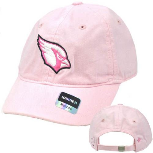 NFL Arizona Cardinals Pink Womens Ladies Reebok