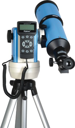Ioptron 9502B-A Smartstar-R80 Computerized Telescope - Astro Blue With Carry Bag