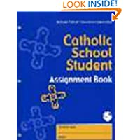 Catholic School Student Assignment Book