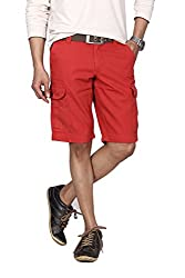 Hammock Solid Mens Cargo Shorts(H21A25J50536)