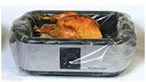 Pansavers 16 - 22 Quart Electric Roaster Liners, 50 Per Pack by Pansavers