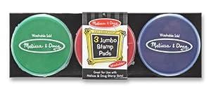 Melissa & Doug 3 Jumbo Stamp Pads