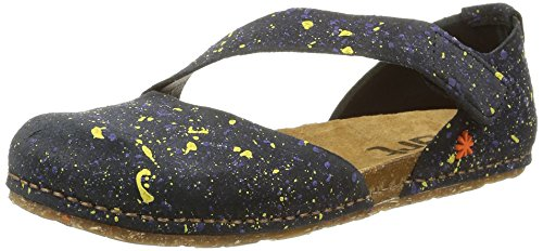 ArtCreta 442 - Sandali Donna , multicolore (Multicolore (Dotted Black)), 39 EU