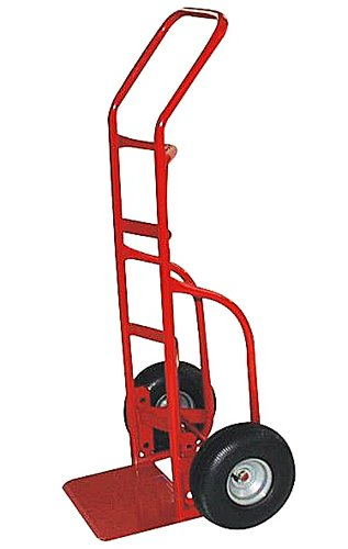 Milwaukee Hand Trucks 33012 Heavy Duty Flow Back Handle Truck With 10-Inch Pneumatic Tires front-593336