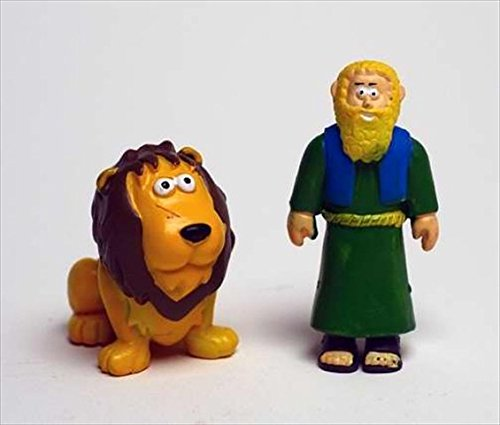 Toy - Action Figure - Beginners Bible - Daniel And Lion