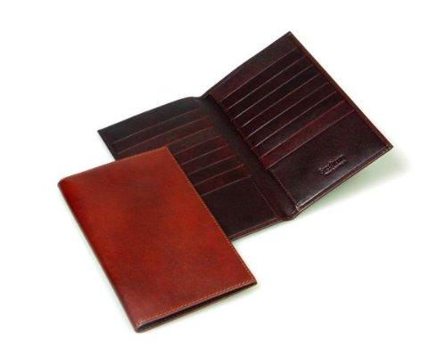 Sage Brown Genuine Leather Suit Wallet