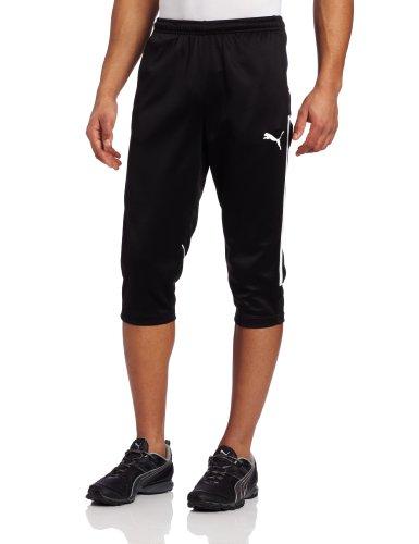 PUMA Puma Men's King 3/4 Training Pants, Black, Large