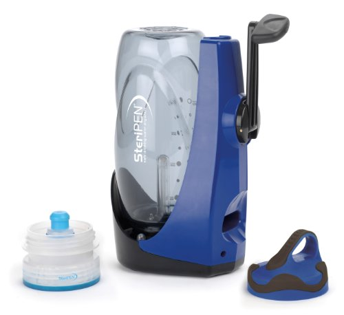 Steripen Sidewinder Portable UV Water Purifier - Blue