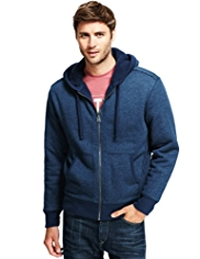 North Coast Zip Through Hooded Sweat Top