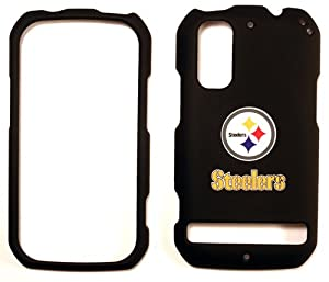 Pittsburgh Steelers Motorola Droid Photon MB 855 Faceplate Case Cover Snap On