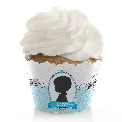 Gender Reveal - Boy - Cupcake Wrappers (Set Of 12) front-146049