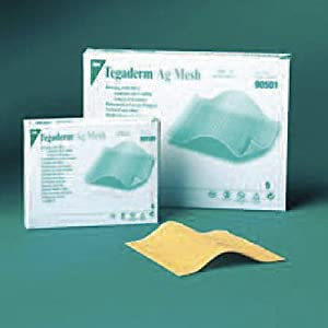 "3M Tegaderm Alginate AG Silver Dressing - 1"" x 12"", Box of 5"