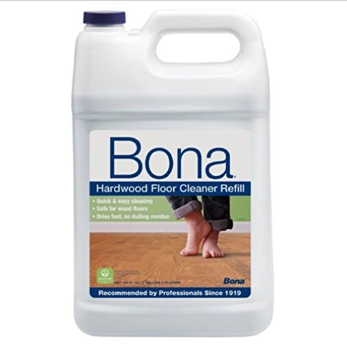 Bona professionals Wood Cleaning Home Hardwood Floor Cleaner No dulling residue,Safe for wood Refill, 128-Ounce (Steam Pole compare prices)
