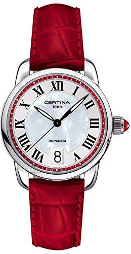 Certina Ladies 'Watch XS Analog Quartz Leather c025.210.16.428.00