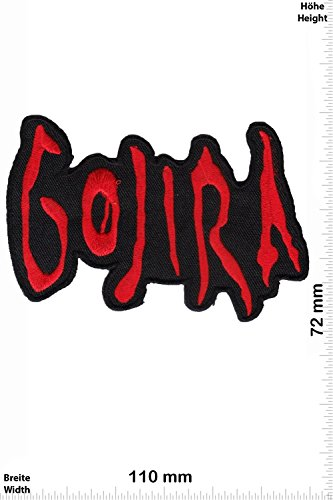 Patch - Gojira - red - Death-Metal-Band - MusicPatch - Rock - Chaleco - toppa - applicazione - Ricamato termo-adesivo - Give Away