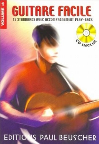 Partition : Guitare facile vol.1 + CD