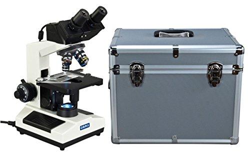 OMAX-40X-2000X-Built-in-30MP-Digital-Camera-Compound-LED-Binocular-Microscope-w-Aluminum-Carrying-Case