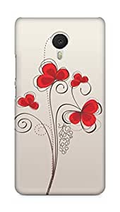 Amez designer printed 3d premium high quality back case cover for Meizu M3 Note (Colors patterns bright)