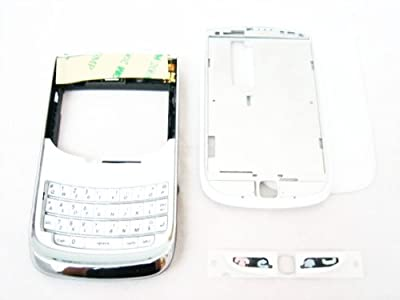 Original White Housing Cover Door Case Frame Fascia Plate for Blackberry Torch 9800 and Mobile Phone Repair Parts Replacement from Blackberry