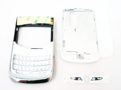 Original White Housing Cover Door Case Frame Fascia Plate for Blackberry Torch 9800 and Mobile Phone Repair Parts Replacement (Torch 9800 Housing compare prices)