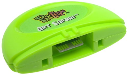 Pixter Art Safari Animal Software Cartridge, Black & White - 1